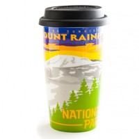 Mount Rainier Travel Mug