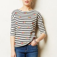 Aoi Tee by Anthropologie Navy