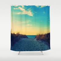 Walk in Love Shower Curtain by RDelean