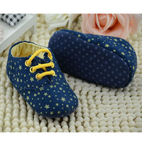 Star Printed Baby Shoes