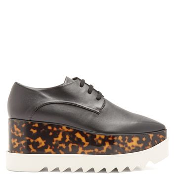 Elyse lace-up faux-leather platform shoes | Stella McCartney | MATCHESFASHION.COM US