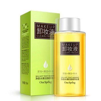 ESBON NEW Olive Oil Makeup Remover Refreshing Mild Cleansing Water for Eyes Lip Face Deep Clean Tender Remove Stimulation-Free 150ML