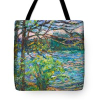 Riverview Spring Tote Bag