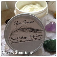 Natural Whipped Night Cream Normal to Dry skin by SheaBoutique