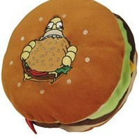Amazon.com: United Labels - Simpsons Pillow Hamburger: Toys & Games