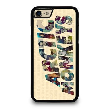 ARCTIC MONKEYS CHARACTERS iPhone 7 Case Cover