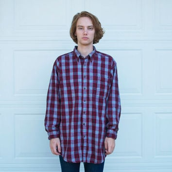 Vintage Woolrich Cotton Flannel Shirt
