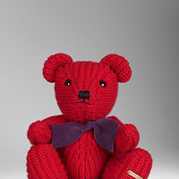 Knitted Cashmere Teddy Bear