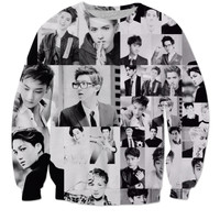 EXO Collage Sweatshirt