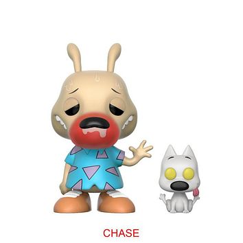 Preorder February 2018 Rocko's Modern Life Rocko and Spunky Chase Pop! Vinyl Figure