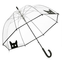Women's Topshop Cat Umbrella (Brit Pop-In)