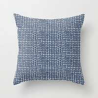 Chevrons Throw Pillow by Demi Goutte