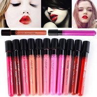 38 Colors (1-19) 1 PC Lip Makeup Set Long Lasting Matte Waterproof Lip Gloss Tatoo Tint Lipgloss Lipstick Nude Lip Stick Lot