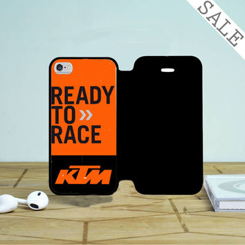 Ktm Ready To Race 2 iPhone 4 |4S Flip Case