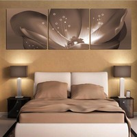 Canvas Painting Modular Picture Wall Art Paintings for Living Room Abstract Flower Wall Pictures Home Decoration Canvas Prints