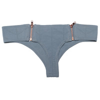 Beach Riot // Stone Cold Fox Cannes Bottom in Grey