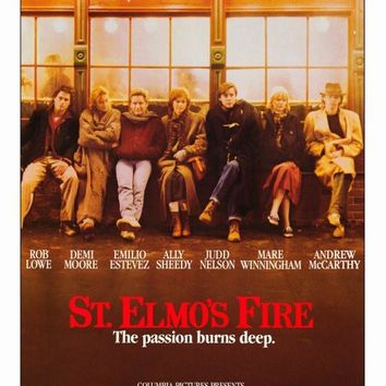 St. Elmo's Fire 27x40 Movie Poster (1985)