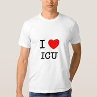 I Love Icu T-shirt