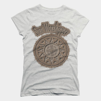 Sun Worshipper 3 T Shirt By Fringeman Design By Humans