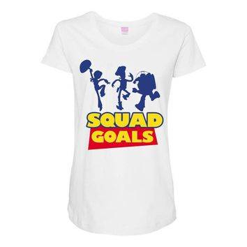 Toy Story Squad Goals Maternity Scoop Neck T-shirt