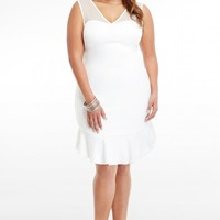 Plus Size Isabelle Ruffle Dress | Fashion To Figure