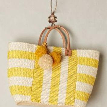 Pampero Tote by Mar y Sol Yellow One Size Bags