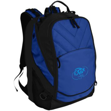 Embroidered Sky Blue OBX Lyfe Port Authority Laptop Computer Backpack in 4 Colors