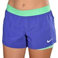 Nike Women's Dri-Fit Icon Woven 2 in 1 Training Shorts