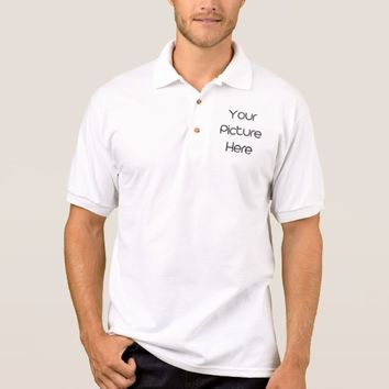 Create Your Own Men's Gildan Jersey Polo Shirt