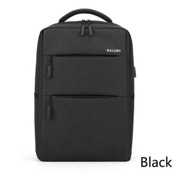 University College Backpack BALANG Unisex Business Waterproof Laptop  Men's Big Capacity Travel  Student s Shoulder Bag Easy CarryingAT_63_4