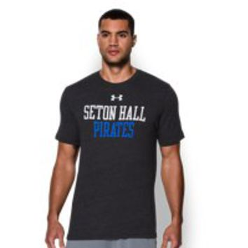 Under Armour Men's Seton Hall UA Tri-Blend T-Shirt