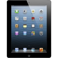 Apple® - iPad® with Retina® display Wi-Fi - 16GB - Black