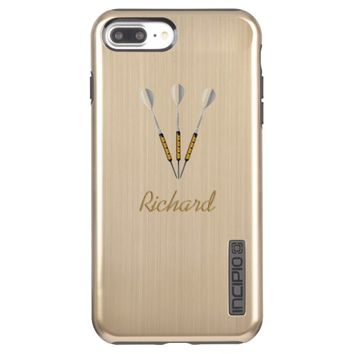 Darts Personalized / Monogram Incipio DualPro Shine iPhone 7 Plus Case