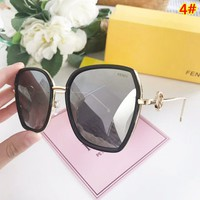 Fendi New fashion polarized glasses women eyeglasses 4#