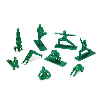 Yoga Joes | plastic army men