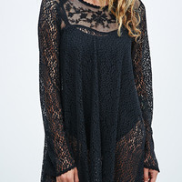 Free People Million Ants Rodeo Dress in Black - Urban Outfitters