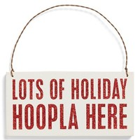 Primitives by Kathy 'Hoopla Here' Ornament | Nordstrom
