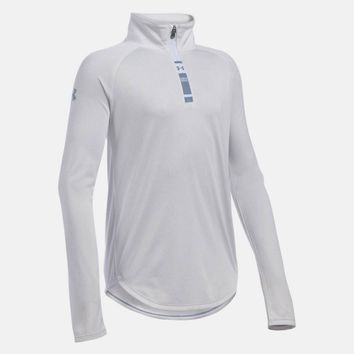 Girls' UA Tech™ Novelty 1/4 Zip | Under Armour US