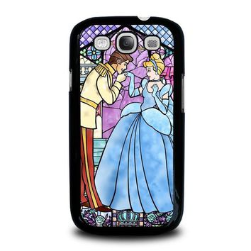 cinderella art glasses disney samsung galaxy s3 case cover  number 1