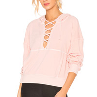 Free People Believer Sweatshirt in Pink
