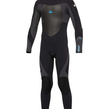 Quiksilver - Boys Syncro 3/2 Back Zip Wetsuit