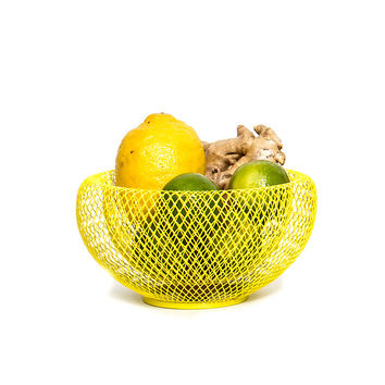 So into this design on Fab! Nest Fruit Bowl Yellow #FabForAll
