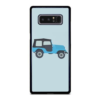 STILES STILINSKI JEEP TEEN WOLF Samsung Galaxy Note 8 Case Cover