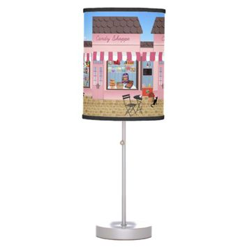Candy Shop Cafe Design Desk Lamps