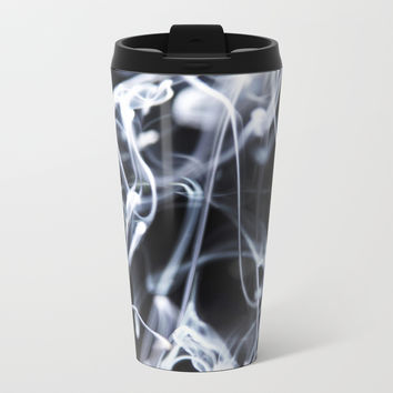 Liquid harmony Metal Travel Mug by happymelvin