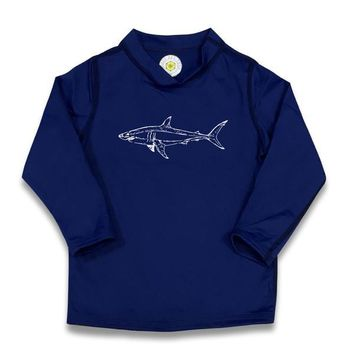 Shark Rash Guard UPF 50+