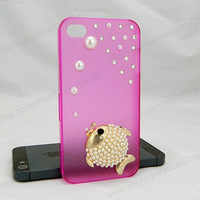 Fish iPhone case,fishes bling iPhone case,iphone 6 case,iphone 6 Plus,iphone 5/5S/5c,iphone 4 case samsung galaxy S3/S4/S5 case,Pearl case
