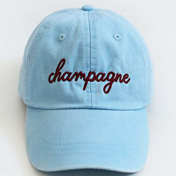 friday + saturday: champagne hat