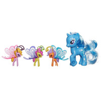 My Little Pony Cutie Mark Magic Trixie Lulamoon & Friendship Flutters Figures