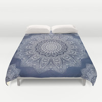 INDIGO DREAMS Duvet Cover by Monika Strigel